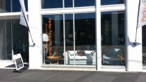 Furniture showroom with UV blocking Fade protection window tint installed - Suntamers