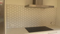 Kitchen Splashback - Mosaic Tiles