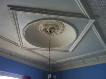 Old Character Ceiling Restoration:before by Superior Painting Services