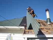 Long run installation - Supreme Roofing Ltd - The roof repair or installation work we perform is completed, using only the highest quality products