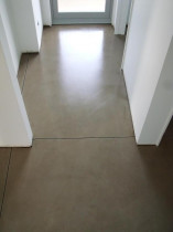 Internal concrete floor