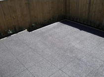 Concrete Pavers - Natural Finish - New Concrete pavers acid washed and 2 coats of SPS Natural Finish Sealer applied