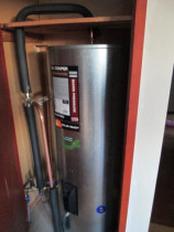 Edina's install - A typical low-to-mains install using a stainless cylinder
