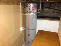 A new Rheem stainless