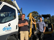 The Drain Company is proudly owned and operated by two brothers, Dan and Steve
