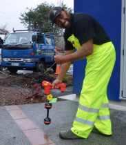 Phillip - thumbs up - The Drainslayer Ltd - Accurate detection means minimal disruption to surfaces and a saving on time.