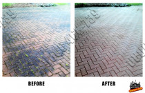 Before and After pavers