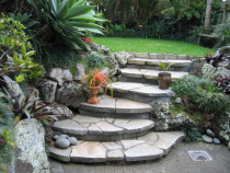 Rock Work by The Landscape Company
