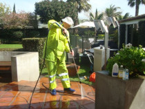 Water Blasting Patio - The Sparkle Guys