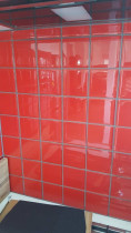 Red 10x10 Glass by The Tiler