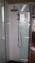 Gregs Renovation - new style big dump drencher shower unit