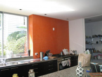 Kitchen splashbacks - Any design and colour can be used.