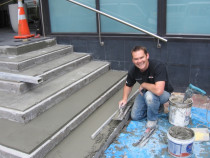 Duane Preparing Steps - Tile Technix Ltd - Tilers