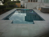 Granite Surround for Pool by Tile Technix Ltd - Tilers