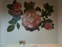 Rose above Bath by Tile Technix Ltd - Tilers