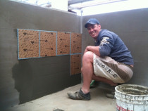Jae Installing Paper Faced Mosaics - Tile Technix Ltd - Tilers