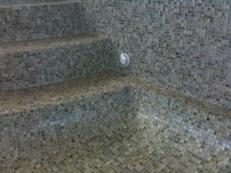 Rose Glass Mosaic Pool by Tile Technix Ltd - Tilers