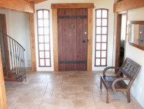 Antiqued Ivory Villa Pattern in Entry by Tile Technix Ltd - Tilers