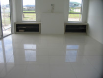 Complete House floor area - 600 x 600mm Polished whites