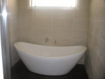 Murry & Sandy's Bathroom - 600 x 600mm Porcelain Floor