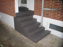 Exterior steps - Jap Nosing tread tiles