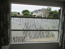Create privacy with decorative film - Tint Wise - Window Tinting