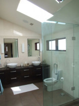 Ensuite renovation - This lovely ensuite renovation means the owners can enjoy waking up and taking a morning shower.