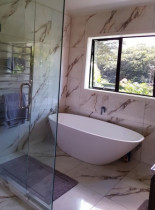Bathroom renovation - Nice spot for freestanding bath