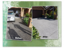 Driveway clean - property ready for sale - We really specialise in reviving your outdoors, whether it be because you want to avoid slipping and want these areas to look lovely or you are looking to sell and want to make a real impression for potential home buyers - like this one.