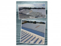 Recent commercial roof - Otahuhu Auckland - Another great result!