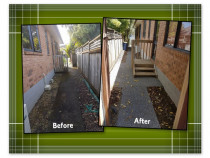 More pathways looking Revived with TK Revive - Property that wanted a spruce up!