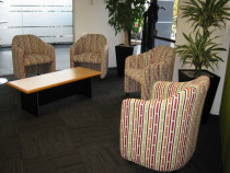 Office work chairs - Topstitch Upholstery