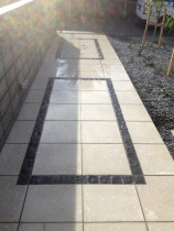 500x500 with bluestone insterts