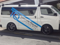 TQ Work Van - TQ Concrete Placers