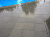 Paving by the pool