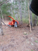 Treespecs - All terrain - When you need to get the chipper right into the trees that's what you gotta do. 