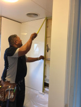 Bathroom renovation - Replacing and restoring a bathroom work done by TT Quality Services
