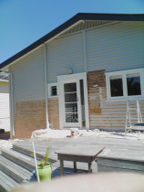 Exterior painting and paint stripping - An example of some paint stripping and painting work done by TT Quality Services