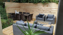Urban Edge Construction - Outdoor entertaining space