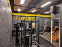 LED panels for Strongside Gym in Henderson - Commercial Lighting upgrade for StrongSide Gym located on keeling road carried out by Vital Electrical Limited