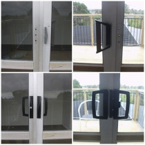 Ranch Slider Locks - Western Lock Services Ltd - Replaced older version ranch slider locks with a modern equivalent in Glen Eden.