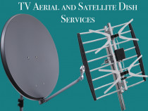 Freeview aerial and satellite dish works at Wisdom Ltd