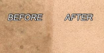 before / after by Xtract-it Carpet Cleaning