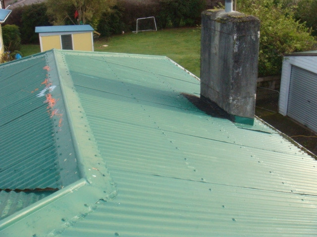 11189 Before With Chimney   Re Roof And Removal Of Chimney. Job No. 11189  Before Withu2026