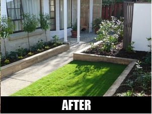 Full property cleanup ltd property maintenance glenfield for Auckland landscaping services ltd