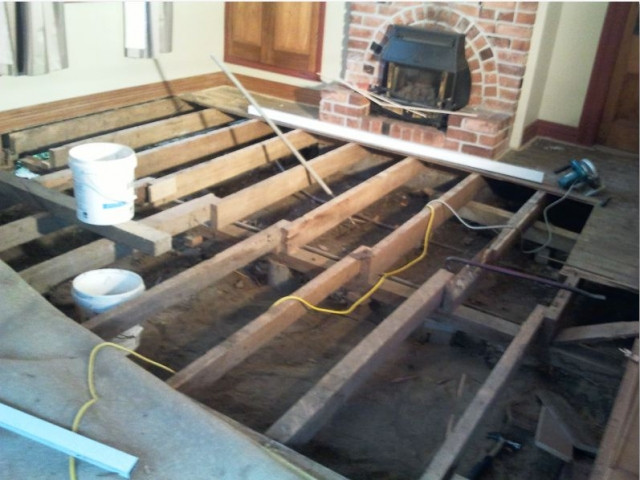 Decking Renovation With Roof