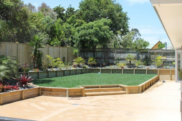 The landscape company landscaping services auckland for Auckland landscaping companies